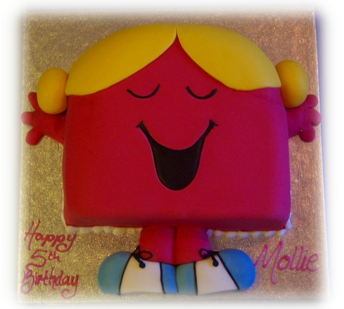 Little Miss Chatterbox Cake