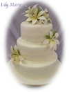 Lily marie wedding cake